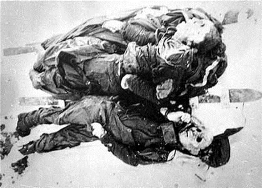 Alexander Zolotaryov ve Alexander Kolevatov'un Cesetleri