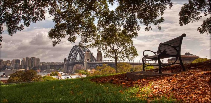 """I was looking for an unusual corner of the Sydney Harbour Bridge. It was a long walk between 6 and 8am, but at the end I thought """"that's it"""""""