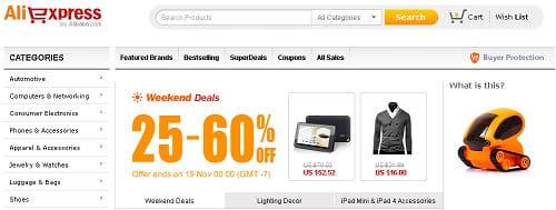 Aliexpress Çin Alışveriş Sitesi