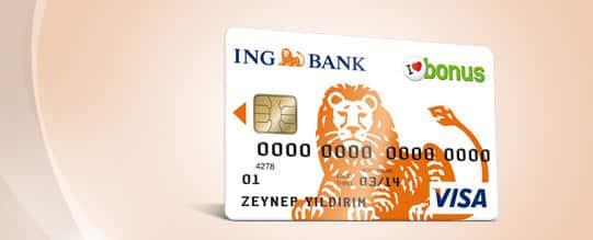 ING Bank Kredi Kartı Başvurusu