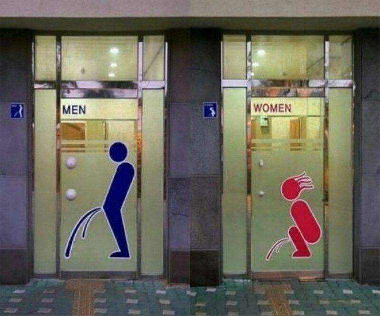 Kadınlar tuvaleti mi daha temizdir, erkekler tuvaleti mi?