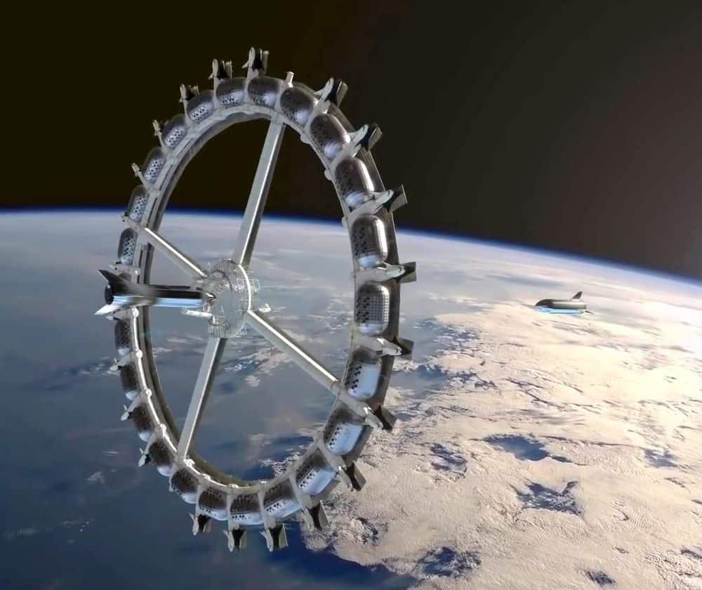 2025 Yılında Açılacak Uzay Oteli: Von Braun Space Station