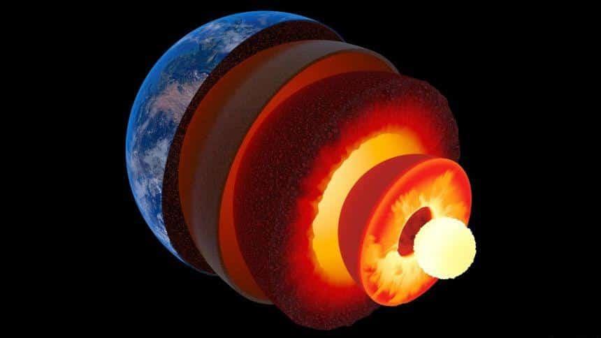 Dünya'nın Çekirdeği Ne Kadar Sıcak?
