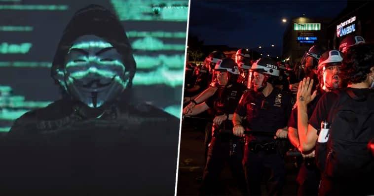 Anonymous'un Floyd Protestolarına Bağlı Minneapolis Kamu Sitelerini Çökerttiği Açıklandı