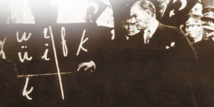 Harf İnkılabı (1 Kasım 1928)