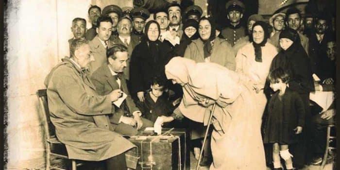 Kadınlara Seçme ve Seçilme Hakkı Verildi (5 Aralık 1934)