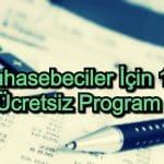 En İyi Ücretsiz Muhasebe Programı – 2020 Güncel – Muhasebeciler İçin 13 Program