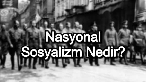 Nasyonal Sosyalizm Nedir?