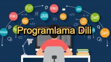 Programlama Dili – 2020 Güncel – Çağımızın En Önde Gelen 12 Programlama Dili