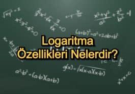 Logaritma Özellikleri Nelerdir?