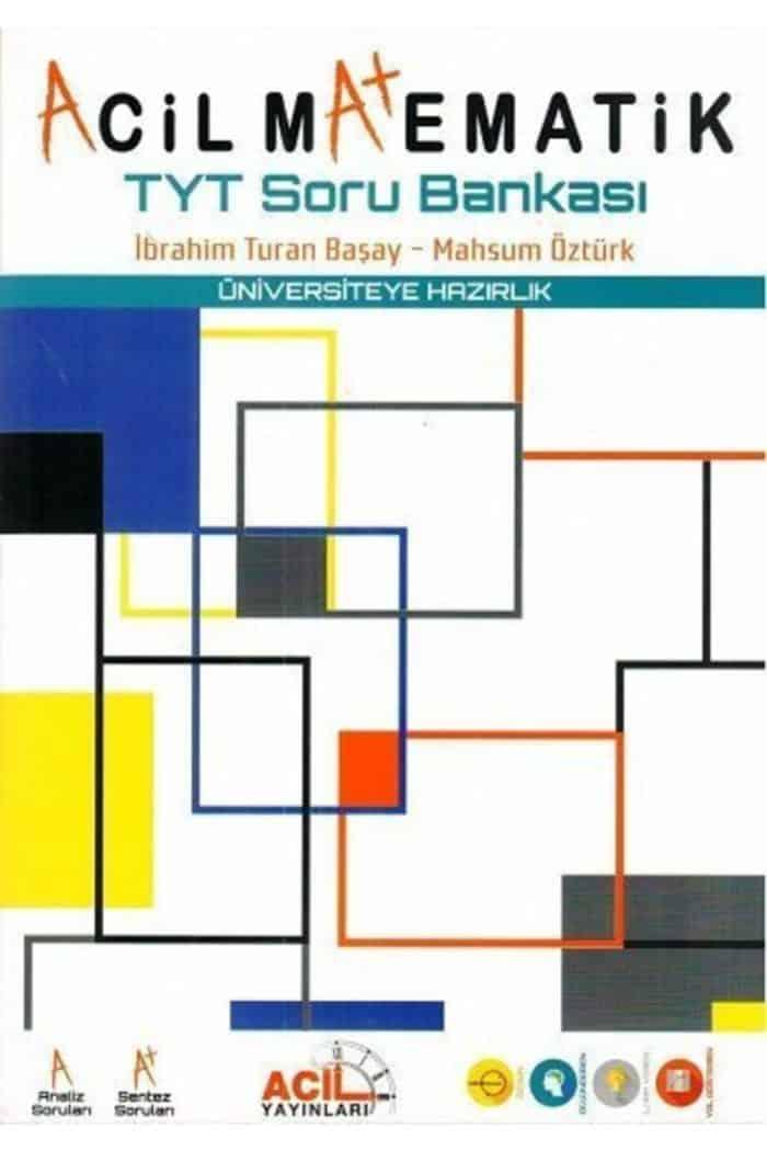 Acil Yayinlari – TYT Acil Matematik Soru Bankasi Kitabi