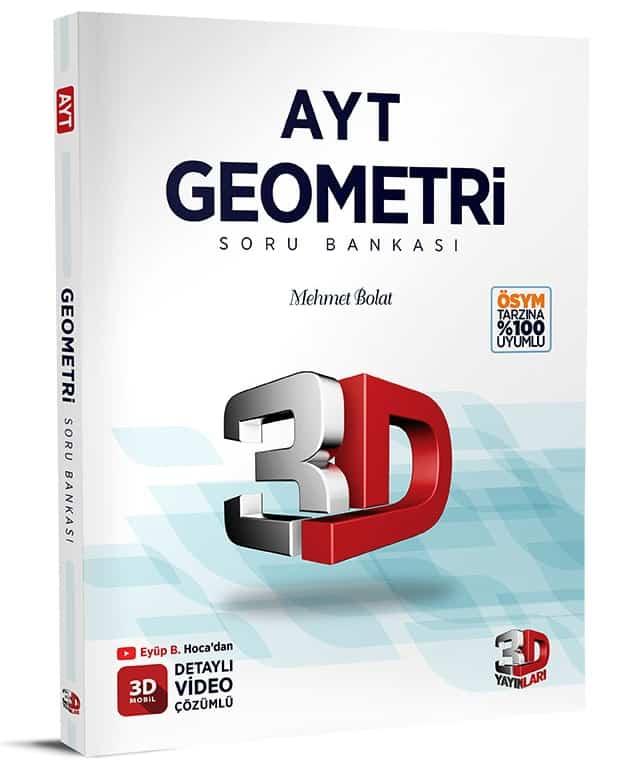 Cozum Yayinlari – 3D AYT Geometri Soru Bankasi