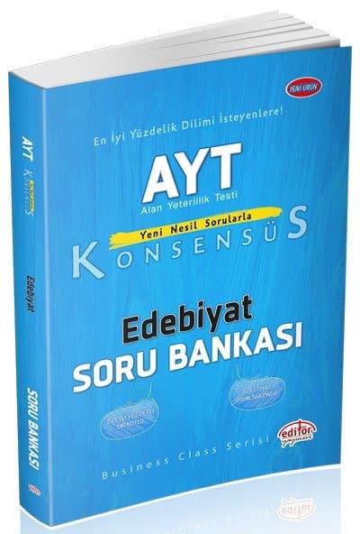 Editor Yayinevi – AYT Edebiyat Konsensus Soru Bankasi