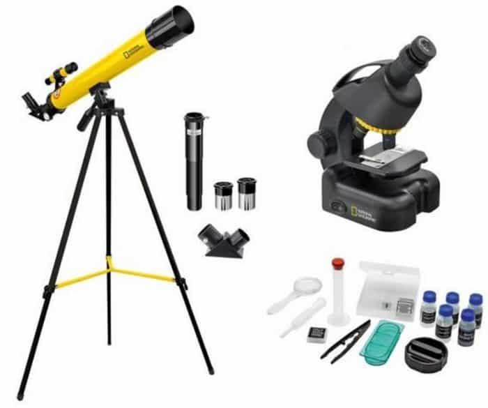 National Geographic Gelismis Teleskop Ve Mikroskop Seti 9118300